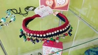black red and white crochet necklace Sant Celoni, 08470