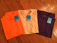 Columbia golf men's polo's- new with tags- size large Gurnee, 60031