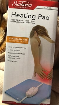 sunbeam heating pad Delta