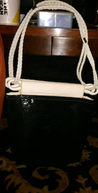 80s reversible net chain purse Westminster