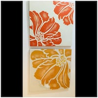 Hibiscus Paintings on Canvas (sold as set of 2) Buda, 78610