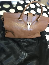 brown leather 2-way bag Glenview, 60026