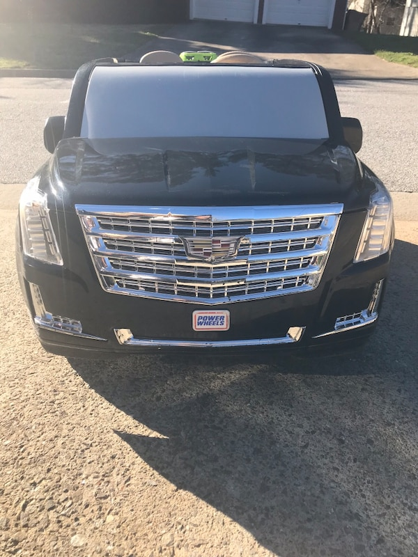 Power Wheels Cadillac Escalade >> Power Wheels Cadillac Escalade 12 Volt Ride On Black