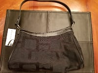 Nine West black purse 555 km