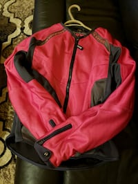 Women's pink Icon motorcycle jacket Richmond, V6Y 2B6