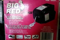 12v winch portable or stationary 6000lb