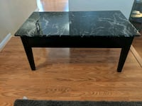 Faux marble lift up coffee table Naperville, 60564