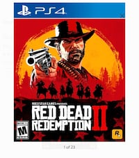 Red Dead Redemption 2 PS4  Baltimore, 21218
