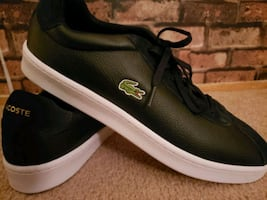 Brand new men's size 12 Lacoste shoes