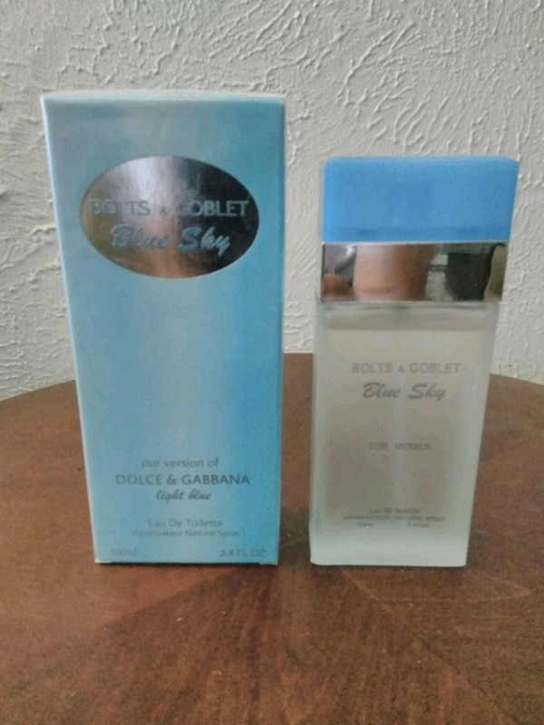 fd5529374d0c42 Used Bolts   Goblet Blue Sky perfume for women for sale in Mesquite ...