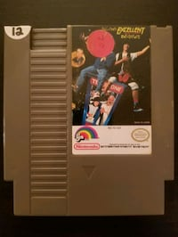 Bill and Ted's Excellent Video Game Adventure for NES