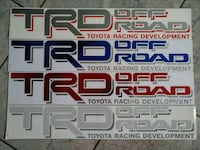 TRD off Road decal Calgary, T1Y 6S2