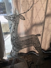 Outdoor reindeer with lights. Used once. No place to store it. So cute  Cambridge, N1T 0B3