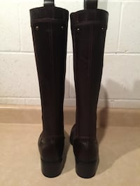 Women's Size 9.5 M Nine West Tall Leather Boots London