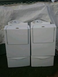 white clothes washer and dryer set Tempe, 85281