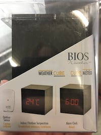 black Bios weather outdoor temperature alarm clock Bradford West Gwillimbury, L3Z