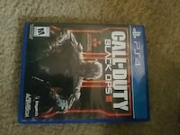Sony PS4 Call of Duty Black Ops 3 game case