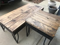 NEW RUSTIC COFFEE TABLE & END TABLE