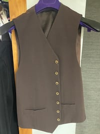 Dolce and Gabbana Brown Vest