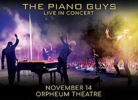 1 ticket to the Piano Guys concert tonight