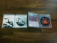 three assorted PS3 game discs Pearland, 77581