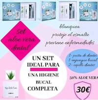 set aloe vera dental  Seville, 41003
