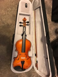 Violin with case and bow  Spring, 77380