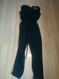 women's black romper pants 2192 km