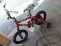toddler's red and black bicycle with training whee Morristown, 37814