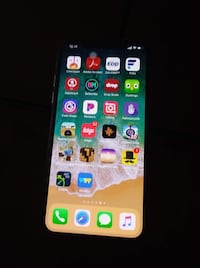 IPhonEX small crack upper left hand corner. Other then that perfect. 6 months old . Absolutely nothing wrong with it ..  Merced, 95348