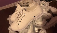 Brand new Pair of white sneakers. Size 37. Toronto, M1M 3M9