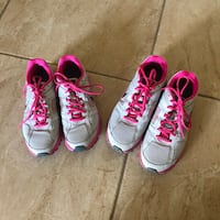 Grey and Pink Nikes Fayetteville, 28303