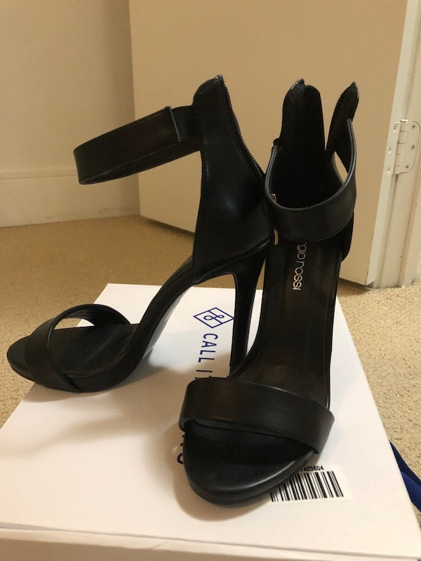 Classic black high heels new