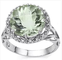 Huge green Amethyst and diamond ring Spring Hill, 34608