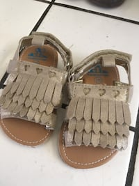 New Baby Girl Sandals Size 3-6 Months  San Jose, 95138
