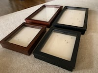 Pottery Barn Shadow Box picture frames  Rockville, 20814