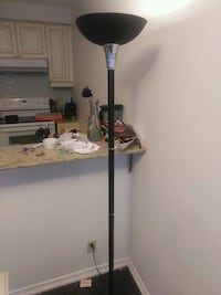 black and white torchiere lamp 535 km