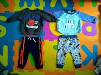 toddler's assorted-color clothes lot 2230 mi