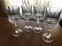 4 Vintage Crystal Wine Glasses Vaughan, L6A 2J8