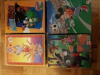 four toddler's story books