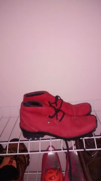 Red Wolky Suede Shoes! Size 8 Toronto, M3K 1E1