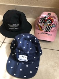 Name brand hats lot  West Valley City, 84120