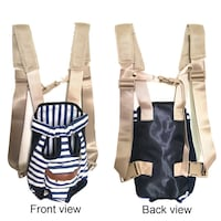 New!! COODIA Legs Out Front Pet Dog Carrier Front Chest Backpack Pet Cat Puppy Tote Holder Bag Sling Outdoor  St Thomas, N5R 6M6