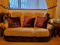 3 seater sofa and 2 matching arm chairs Lurgan, BT66 6ND