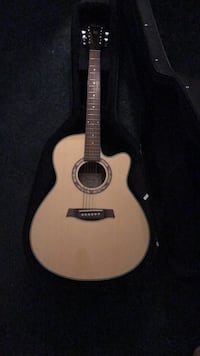 brown and black acoustic guitar Washington, 20024
