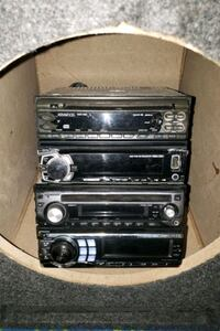 Several Stereo system  Kenwood Alpine