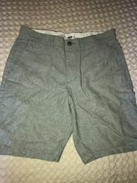 Men's Grey Linen Shorts  Barrie, L4N 6V4