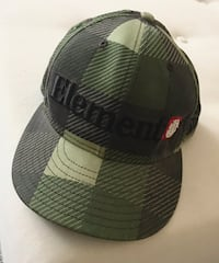 Black and gray fitted cap El Centro, 92243