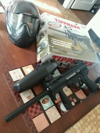 Tippmann A-5 with rapid release  43 km