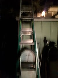 Step ladders ten foot eight foot and smaller